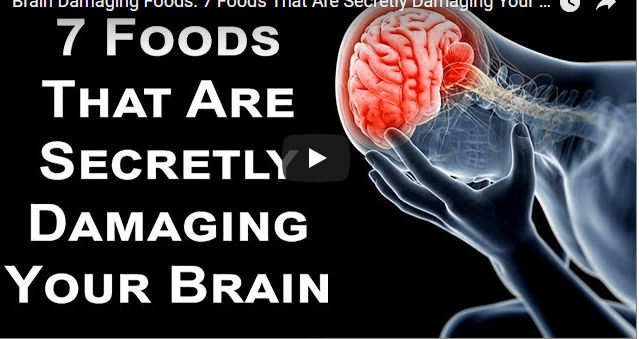 Food / Recipe that can cause brain damage.