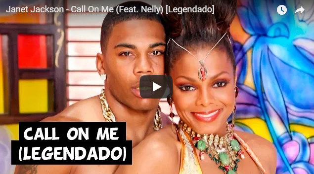 """Janet Jackson song on """"call on me"""" featuring Nelly"""