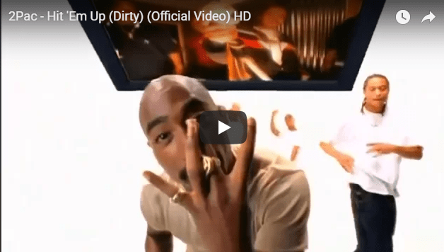 2Pac song: Hit em up; remembering the rapper