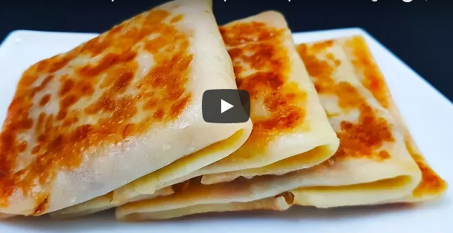 Simple recipe for making Chicken Tikka crepes