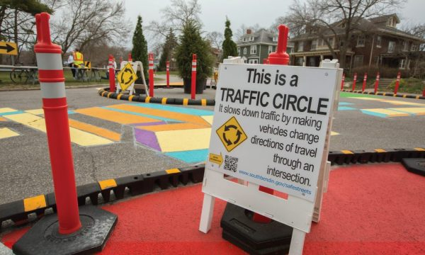 South Bend, IN demonstration project: Neighborhood traffic ...