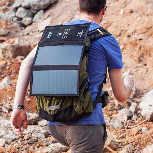 Anker PowerPort Solar Lite 2. Solcelleoplader test.