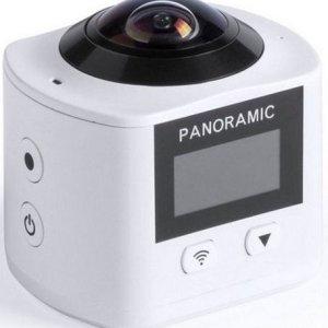 360º Kamera Med Full Hd Lcd Skærm Og Wifi