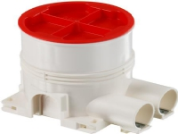 ABB Indmurings og indstøbningsdåse Euro 1 modul. Ekstra dyb: 78mm samt 2 x 20mm rørtude