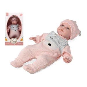 Baby Dukke I Sparkedragt Og Hue Til Børn - Pige - Pink