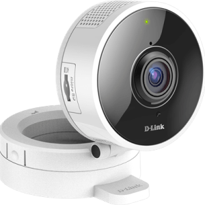 D-link Dcs 8100lh Mydlink 180-degree Wi-fi Camera Hvid