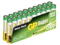 GP Batteries Smart Energy AAA, Rechargeable battery, 1,5 V, 10 stk, Grøn, Gul, Blister, Cylinder
