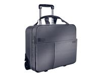Leitz Complete Trolley Smart Traveller - Bæretaske til notebook - 15.6 - sølv