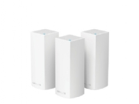 Linksys VELOP Whole Home Mesh Wi-Fi System WHW0303 - Wi-Fi-system (3 routere) - op til 6000 sq.ft - mesh - GigE - Bluetooth 4.0, 802.11b/g/n/ac - Tri