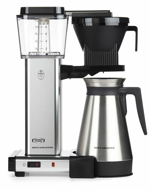 Moccamaster Kbgt 741 Termo Kaffemaskine - Aluminium