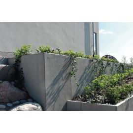 RC Beton L-Stød20KN/m2 160 x 200 cm - Grå