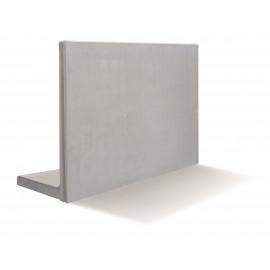 RC Beton L-Stød4KN/m2 100 x 100 cm - Grå