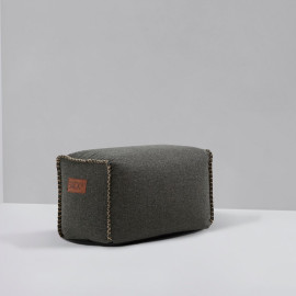 RETROit Cobana Square Puff - Grey