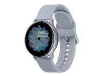 Samsung Galaxy Watch Active 2 - 40 mm - cloud silver aluminum - smart ur med bånd - fluoroelastomer - cloud silver - display 1.2 - 4 GB - Wi-Fi, NFC