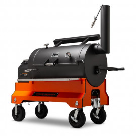 Yoder Smokers YS1500S Orange Træpillegrill
