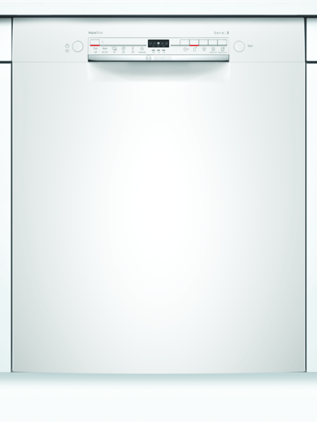 Bosch Smu2itw04s Opvaskemaskine - Hvid