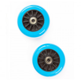 Hjul til Trick Løbehjul 100 mm - Sort/Turkis