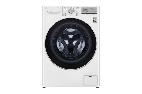LG F4dv409n1w Vaske-tørremaskine - Hvid