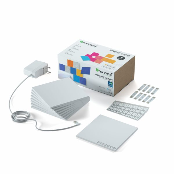 Nanoleaf Canvas Smarter Kit - 9 paneler