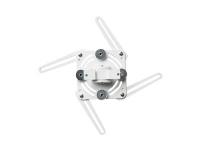 SMS Projector WL ShortThrow V - Monteringspakke (vægplade, universal glidebøjle) for projektor - hvid, aluminium