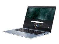 Acer Chromebook 314 CB314-1H-C8VP - Celeron N4020 / 1.1 GHz - Chrome OS - 4 GB RAM - 64 GB eMMC - 14 1366 x 768 (HD) - UHD Graphics 600 - Wi-Fi 5, B