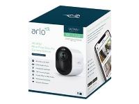 Arlo VMS5140 - Netværksovervågningskamera - udendørs, indendørs - farve (Dag/nat) - 4K - audio - trådløs - WiFi