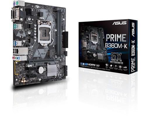 Asus Prime B360m-k Micro-atx Bundkort