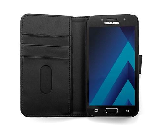 Cirafon Genuine Leather Wallet Samsung Galaxy A3 (2017) Sort Læder