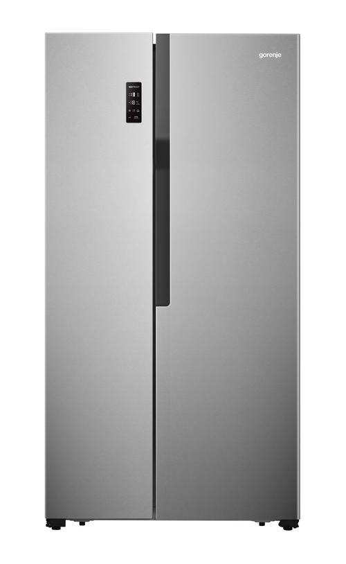 Gorenje Nrs918emx Amerikanerkøleskab - Rustfrit Stål
