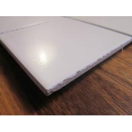 Modul Hvid Mat mosaik 9,7x9,7 cm