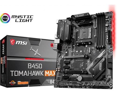 Msi B450 Tomahawk Max Atx Bundkort