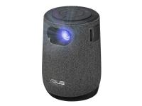 ASUS ZenBeam Latte L1 - DLP-projektor - LED - 300 lumen - 1280 x 720 - 16:9 - 720p - kort kast fikseret objektiv - Wi-Fi / Bluetooth - grå, sort