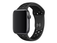 Apple 44mm Sport Band - Urrem for smart watch - S/M og M/L størrelse - antracit/sort - for Watch (42 mm, 44 mm)