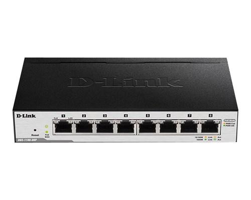 D-link Dgs-1100 V2 8-port Smart Poe Switch 64w