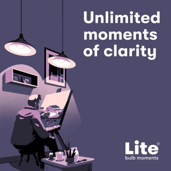 Lite Bulb Moments - E27 9W A60 RGB 3-Pack