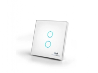 MCO Home Glass Touch Switch GEN5 (2 Buttons) Z-Wave Plus