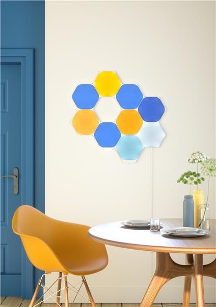 Nanoleaf Shapes - Hexagons startpakke - 15 styk
