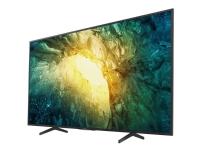 Sony KD-55X7055 - 55 Diagonal klasse (54.6 til at se) - BRAVIA X7055 Series LED-backlit LCD TV - Smart TV - Linux - 4K UHD (2160p) 3840 x 2160 - HD