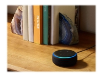 Amazon Echo Dot - 3rd Generation - smart højttaler - Bluetooth, Wi-Fi - brunsort