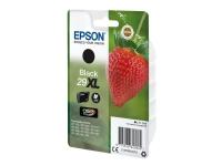 Epson 29XL - 11.3 ml - XL - sort - original - blister - blækpatron - for Expression Home XP-245, 247, 255, 257, 332, 342, 345, 352, 355, 435, 442, 44