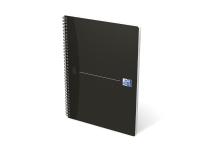 Notesbog oxford smart black notebook a5 linjeret