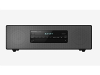 Panasonic STEREO IN LEGNO DAB+ 40 W, Home audio mini system, Sort, 40 W, 8 ohm (O), DAB,FM, FL