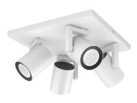 Philips Hue White Color Ambiance Argenta 4-Spot - Hvid BT