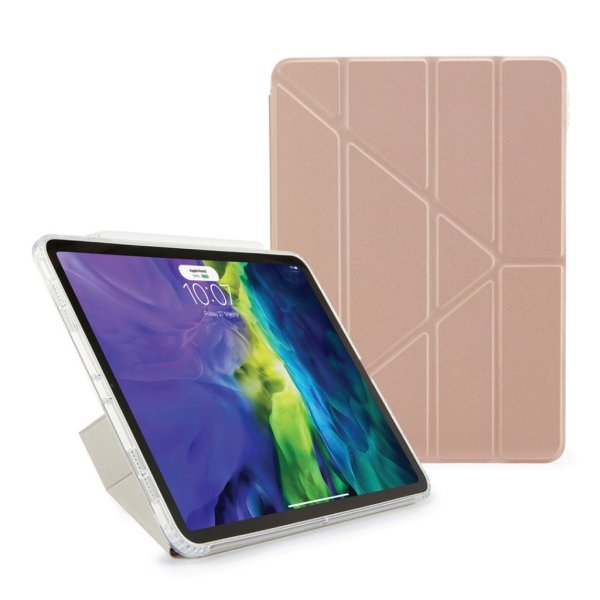 """Pipetto Metallisk Origami Cover til iPad 10.9"""" - Rose guld"""