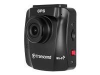 Transcend DrivePro 230Q Data Privacy - Instrumentpanel-kamera - 1080p / 30 fps - Wi-Fi - G-Sensor