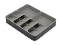 Expanding Cutlery, Utensil & Gadgets Organiser DrawerStore™ - 31,5x39,5x5,5cm - PP - grå
