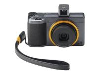 Ricoh GR III Street Edition - Digitalkamera - kompakt - 24.2 MP - APS-C - 1080p / 60 fps - flash 2 GB - Wi-Fi, Bluetooth - metalgrå, orangegul