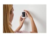Ring Stick Up Cam Wired - Netværksovervågningskamera - udendørs, indendørs - vejrbestandig - farve (Dag/nat) - 1080p - audio - trådløs - WiFi - LAN 1