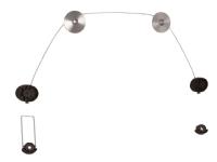 TV-ophæng wire 13-70 50 kg.