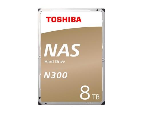 """Toshiba N300 Nas 8tb 3.5"""" Serial Ata-600"""